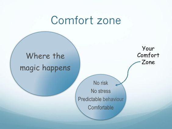 An easy way to stretch out of your comfort zone