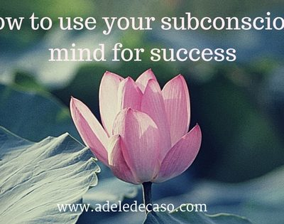How to use your subconscious mind for success