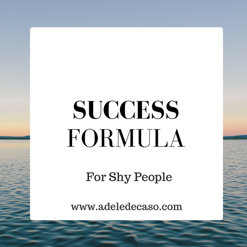 Success Formula For Shy People One Day Event